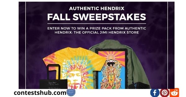 Authentic Hendrix Fall Sweepstakes