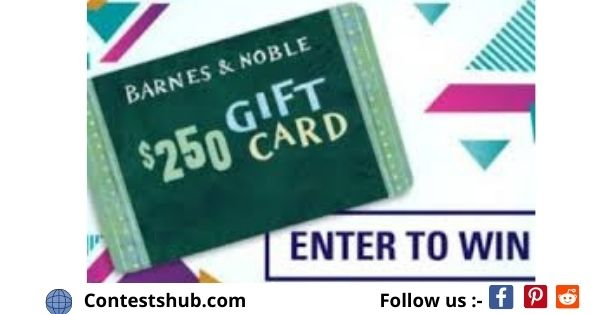 Book Riot $250 Barnes And Noble Gift Card Sweepstakes