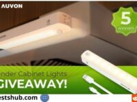 Auvon Rechargeable Under Cabinet Lights Giveaway