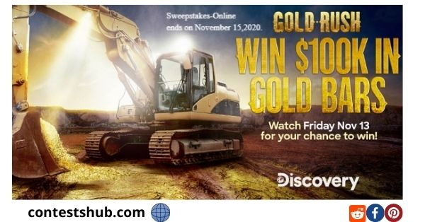 Discovery Channel Gold Rush Giveaway