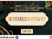Food Network's Thanks Sweepstakes