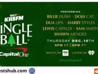 Jingle Ball Pre-Party Prize Pack Online Sweepstakes