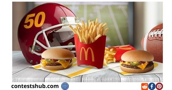 McDonald's Mc Delivery 50 Burger Sweepstakes