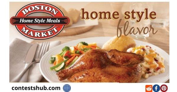 Tell Boston Market Guest Satisfaction Survey