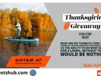 Yak Attack Thanksgiving $250 Gift Card Giveaway