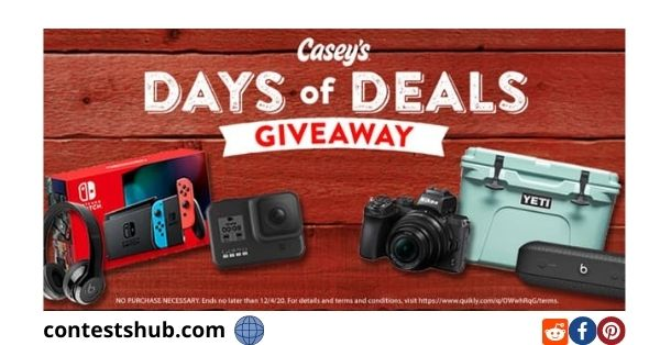 Casey's General Store Days of Deals Giveaway