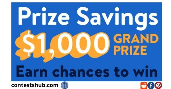 Walmart MoneyCard Prize Savings Sweepstakes
