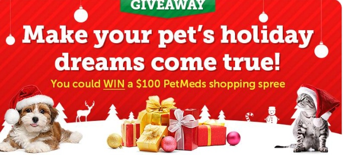 1800 Petmeds Holiday Dreams Sweepstakes