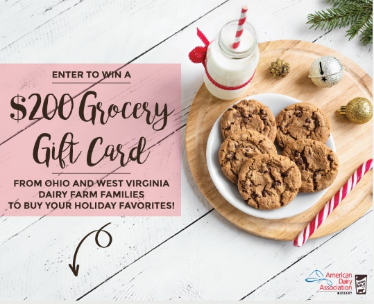 American Dairy Associations Holiday Giveaway