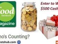 Food Network Magazine Who's Counting Cash Contest