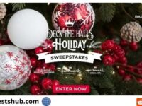Hallmark Channel's Deck the Halls Holiday Sweepstakes