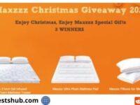 Maxzzz Christmas Giveaway