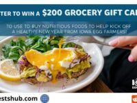 Iowa Egg Council Holiday Sweepstakes