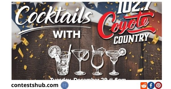 Cocktails With Coyote Country Virtual Event Contest