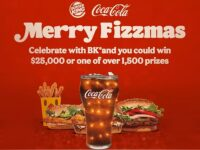 Burger King A Very Merry Fizzmas Sweepstakes
