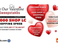 ShopLC Valentines Sweepstakes