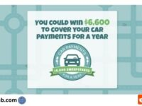 Car Payments For A Year Sweepstakes