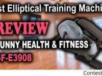 Sunny Health And Fitness Portable Elliptical Machine Giveaway