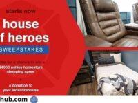Ashley HomeStore House of Heroes Sweepstakes