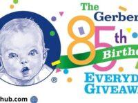 Gerber and Babylist $2,000 Epic Giveaway