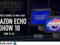Jeopardy Alexa June Sweepstakes