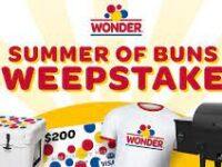 Wonder Bread Summer Sweepstakes