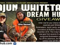 Buckmasters Cajun Whitetail Dream Hunt Giveaway