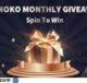 Atmoko Spin to Win Sweepstakes