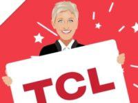 Ellen DeGeneres 65 TCL TV Sweepstakes