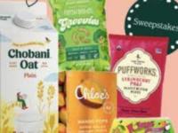 Chobani Super Snackin Sweets Sweepstakes