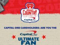 IHeartRadio Capital One Ultimate Fan Sweepstakes