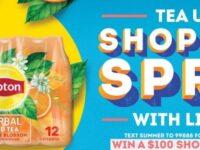 Jewel osco Lipton Summer Of Tea Sweepstakes