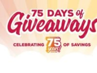 Grocery Outlet 75 Days Of Giveaway