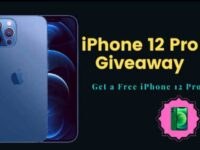 Free 128 GB iPhone 12 Pro Max Giveaway