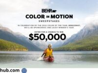 Behr Color in Motion Sweepstakes