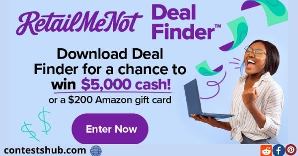 RetailMeNot Deal Finder Sweepstakes