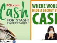 PCH Secret Cash Stash Sweepstakes