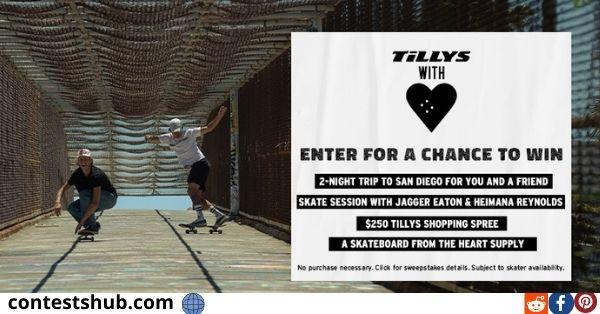 Tillys San Diego Skate Sweepstakes