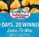 Bell & Evans 20th Nugget Anniversary Sweepstakes