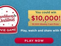 Hallmark Channel Christmas Movie Game Sweepstakes