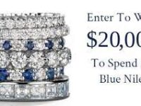 Blue Nile Ultimate Holiday Gift Sweepstakes